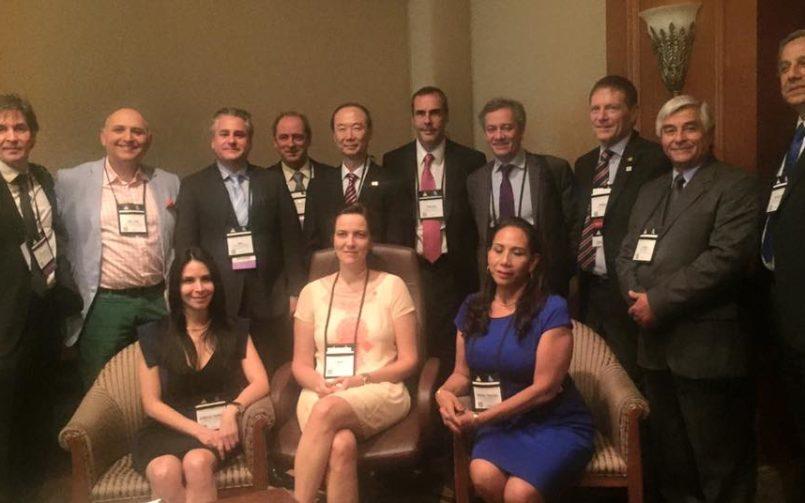Reunion de Secretarios Nacionales y el Presidente de la International Society of Aesthetic Plastic Surgery